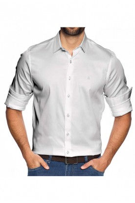 Camisa Slim Fundamental Branca